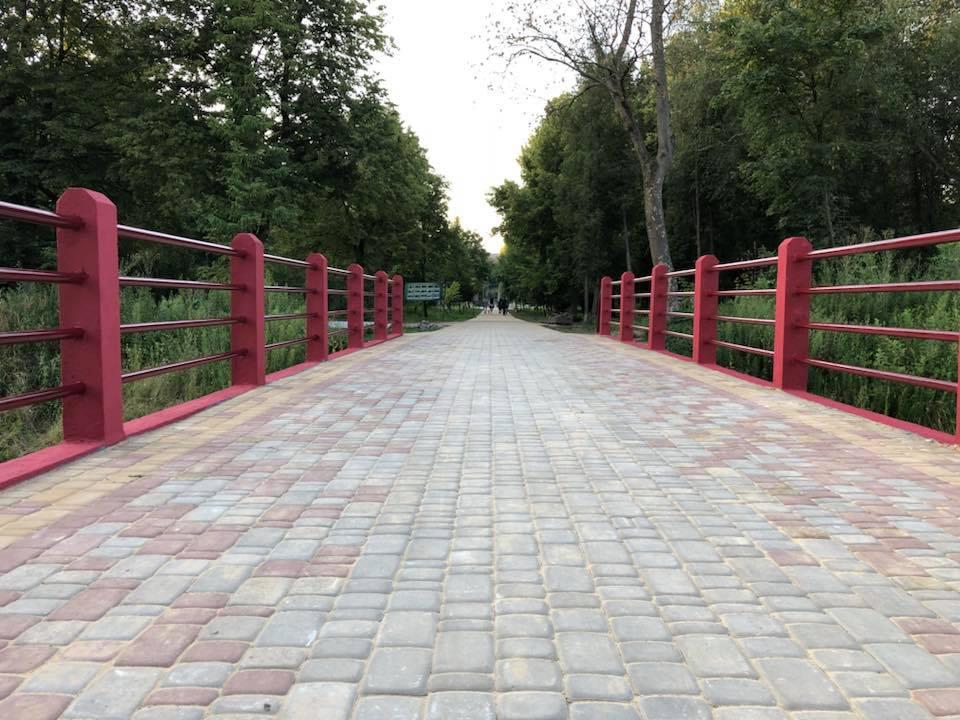 Мешканців Луцька знову кличуть долучитися до фарбування містка у Центральному парку
