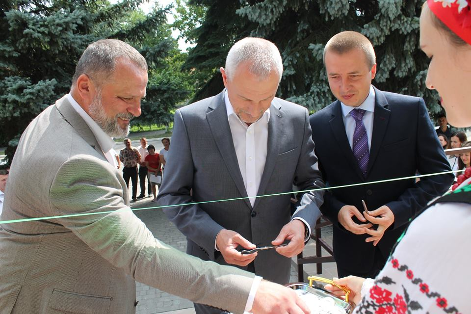 У Любомлі відкрили сучасний Центр надання адміністративних послуг