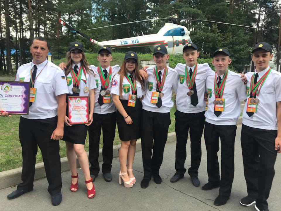 Юні рятувальники з Волині вибороли нагороди на міжнародних змаганнях
