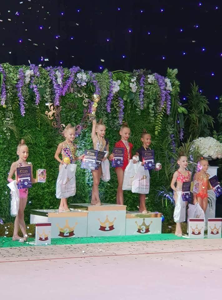 Юні гімнастки з Луцька стали призерками міжнародних змагань