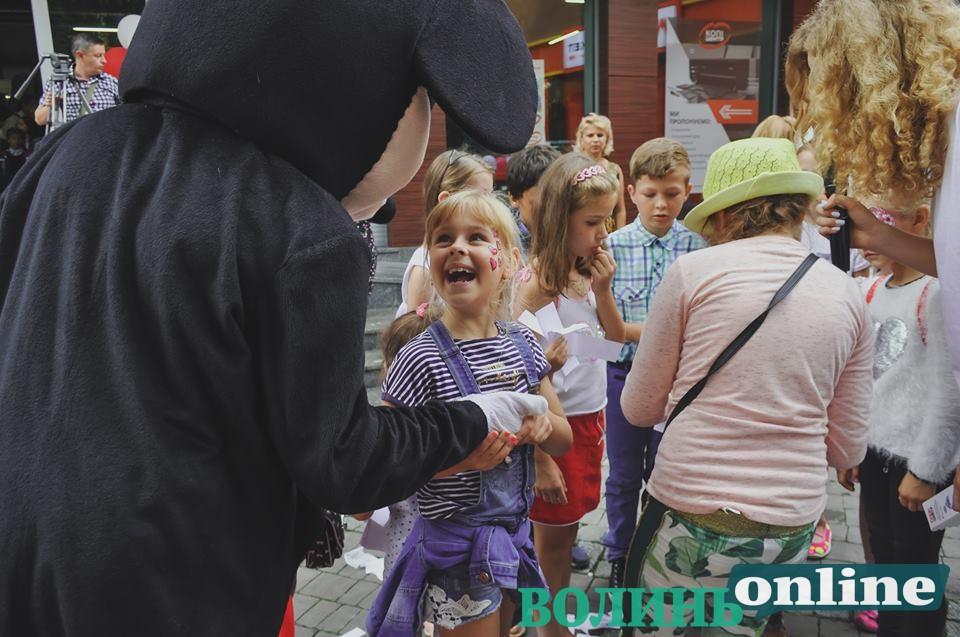 У Луцьку відбулося Свято рюкзачка. ФОТО