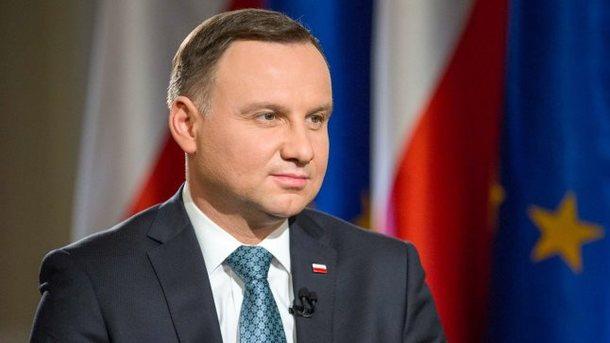 Президент Польщі відвідає Волинь