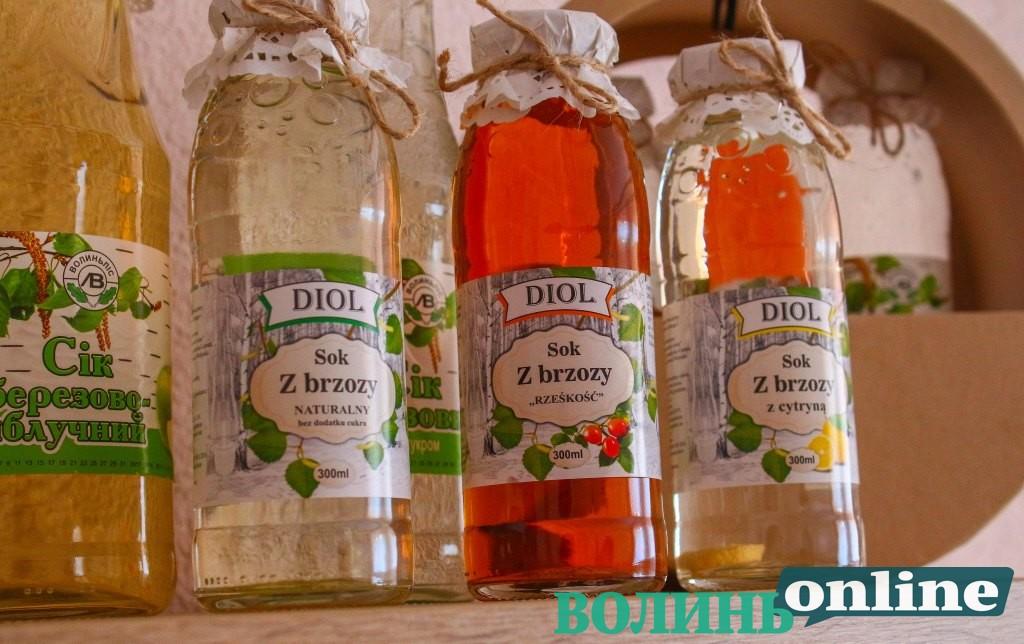 Варенням та соками волинських лісівників смакують не лише у Європі, а й за океаном. ФОТО