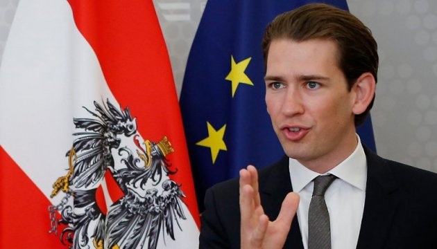 Курц вважає важливою зміну фокусу уваги ЄС щодо біженців