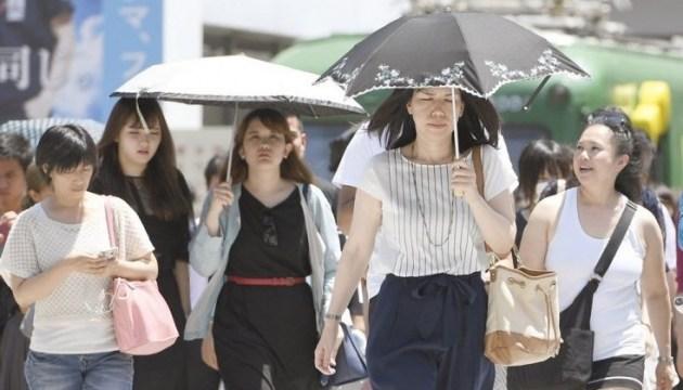 У Японії через спеку померли щонайменше шестеро людей