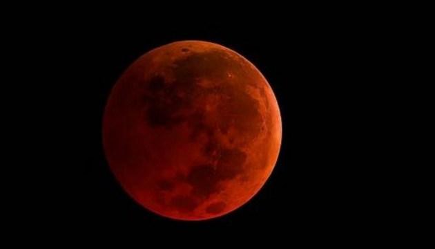«Кривавий місяць»: українці побачать майже всі фази затемнення