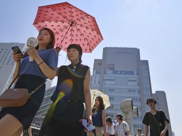 У Японії через спеку померли вже 30 осіб