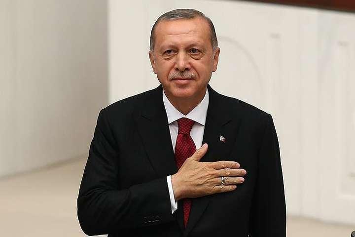 Ердоган склав присягу президента Туреччини