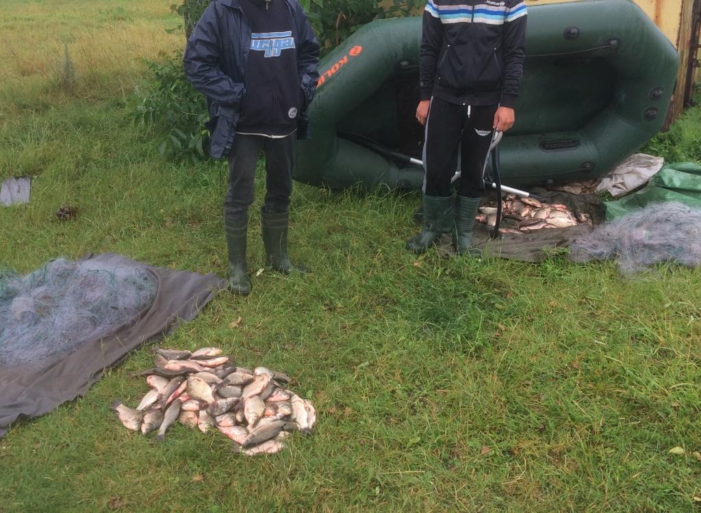 Протягом місяця Волинський рибоохоронний патруль вилучив майже 60 кілограмів риби