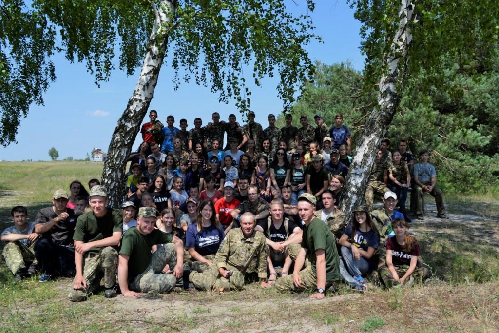 На Волині відбувся патріотичний табір «Хорунжий». ФОТО