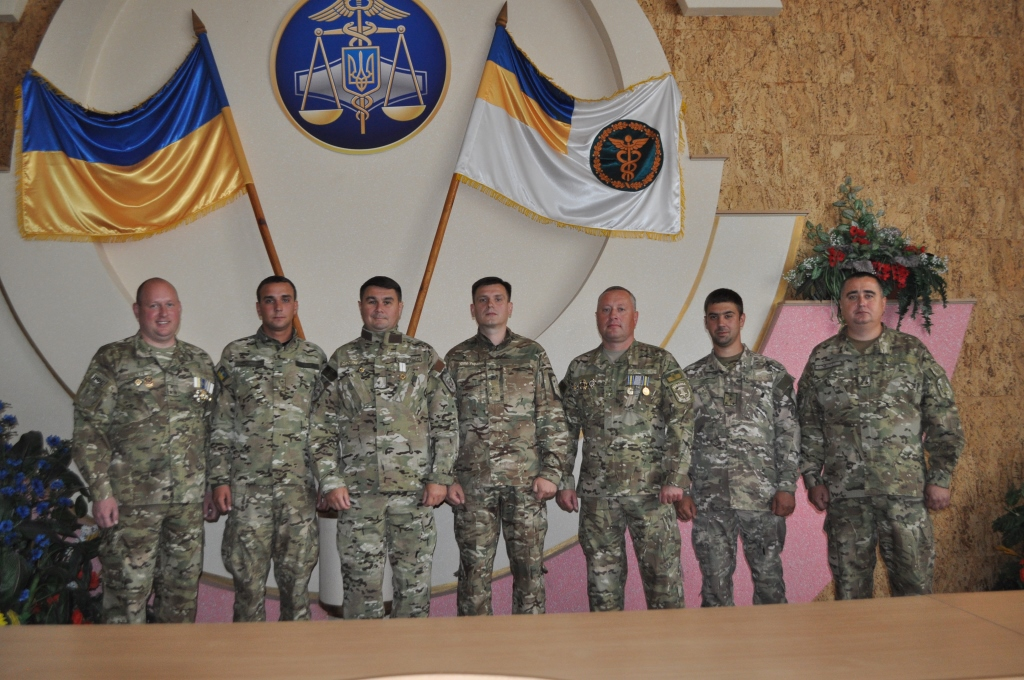 На Волинь повернулися податкові міліціонери, які проходили службу у складі ООС