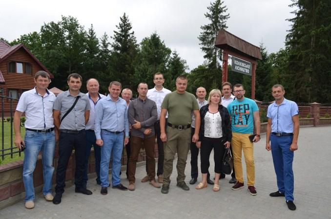 Голови ОТГ із різних областей України вивчалилісовий досвід Волині. ФОТО