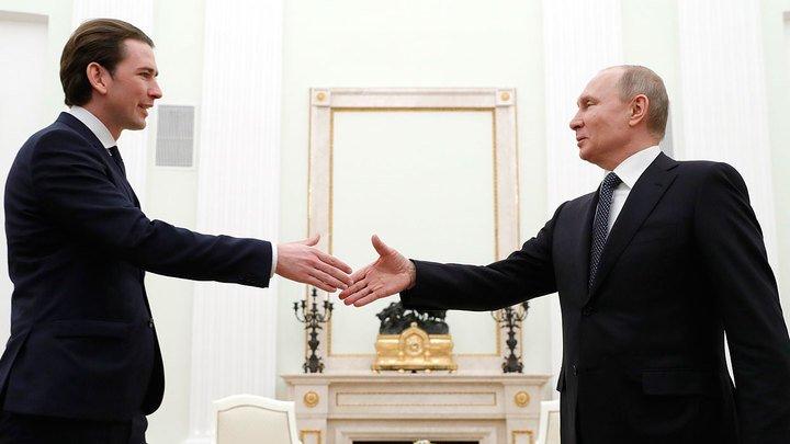 Канцлер Австрії виступив за зміцнення діалогу з Росією