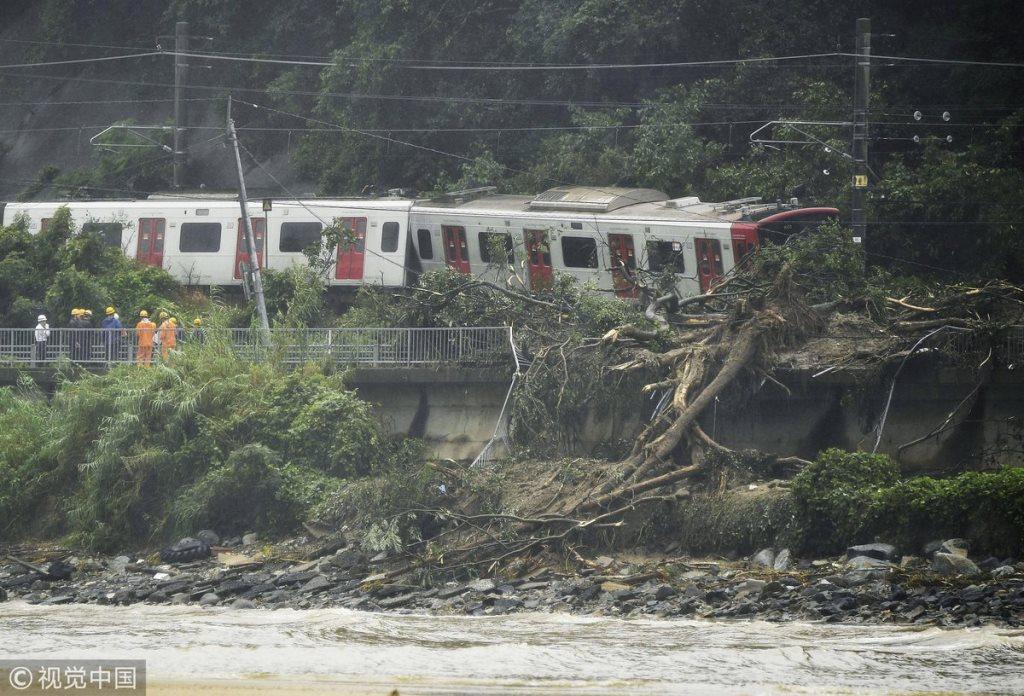 У Японії через зливи та повені 21 людина загинула, ще 47 зникли безвісти