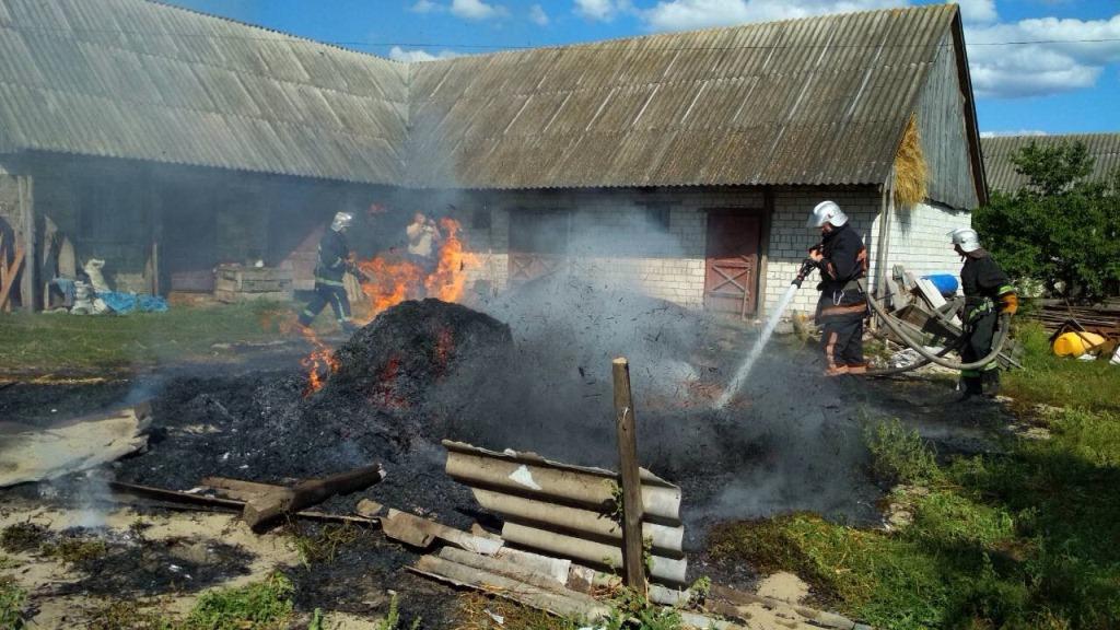 Протягом минулої доби на Волині трапилось чотири пожежі