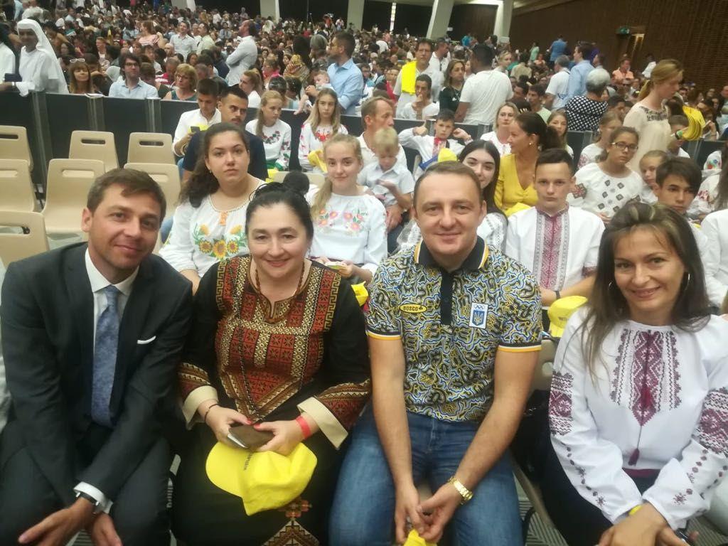 Діти з Волині відвідали Ватикан та поспілкувалися із Папою Римським