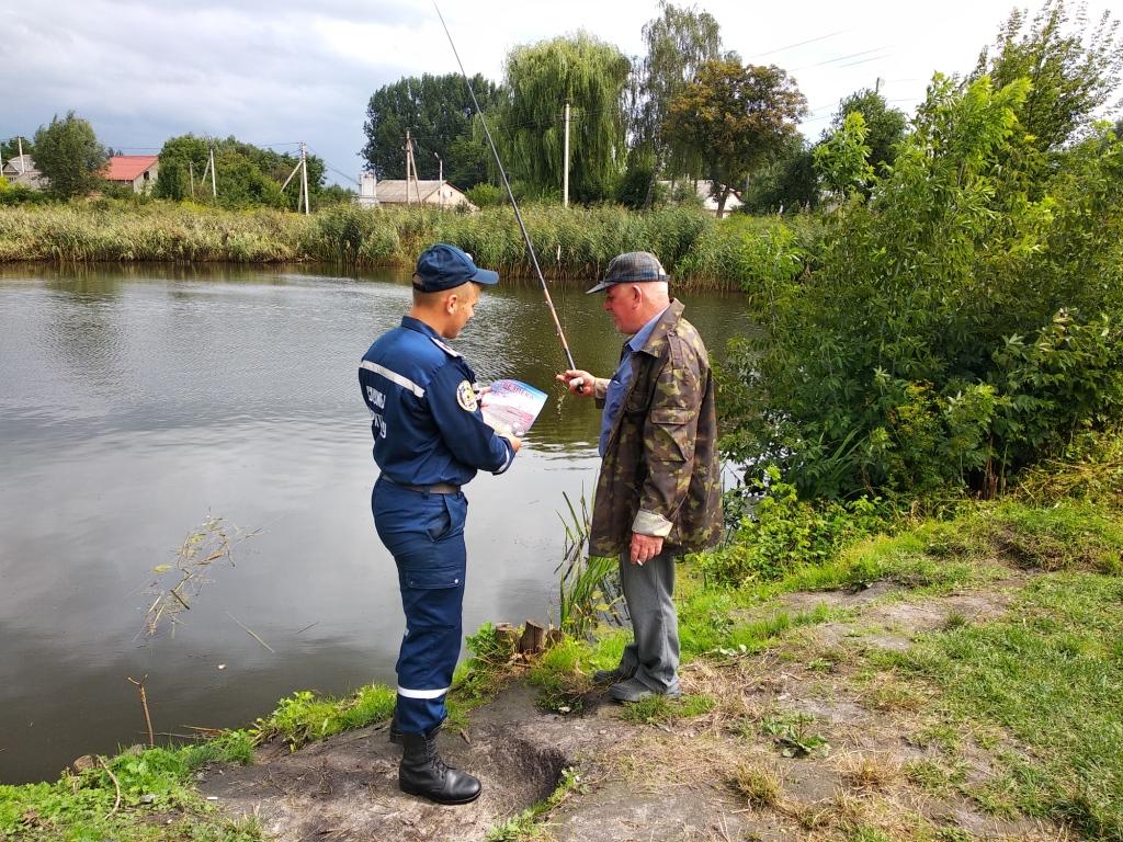 Волинських рибалок закликають бути обережними поблизу водойм