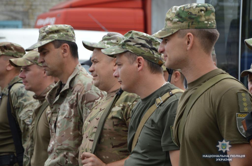 Волинські спецпризначенці вирушили у ротацію в зону проведення ООС. ФОТО