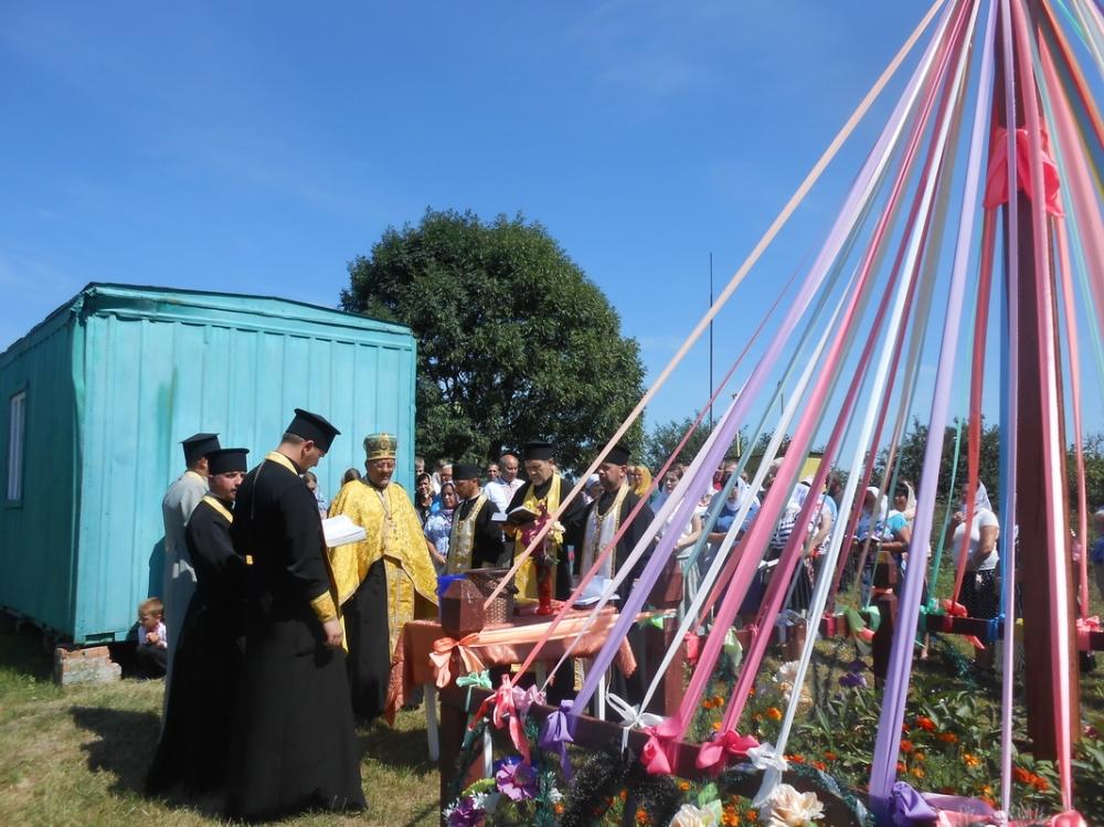 У селі на Волині відбулася перше богослужіння українською мовою. ФОТО