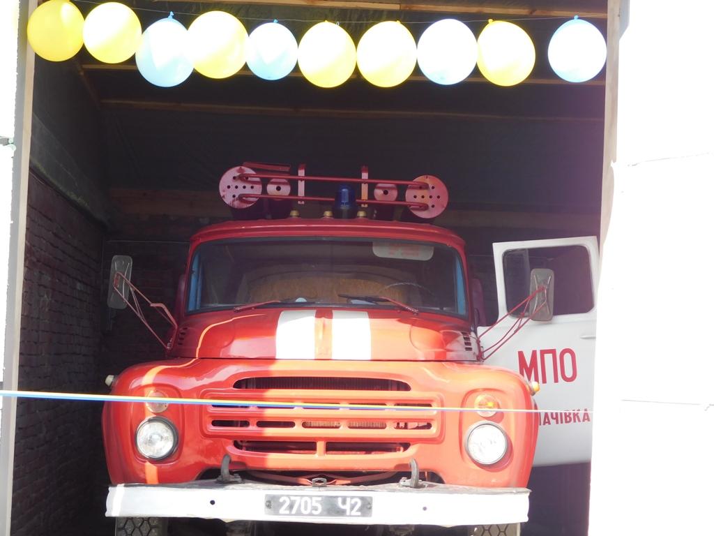 У селі на Волині з'явився підрозділ місцевої пожежної охорони. ФОТО