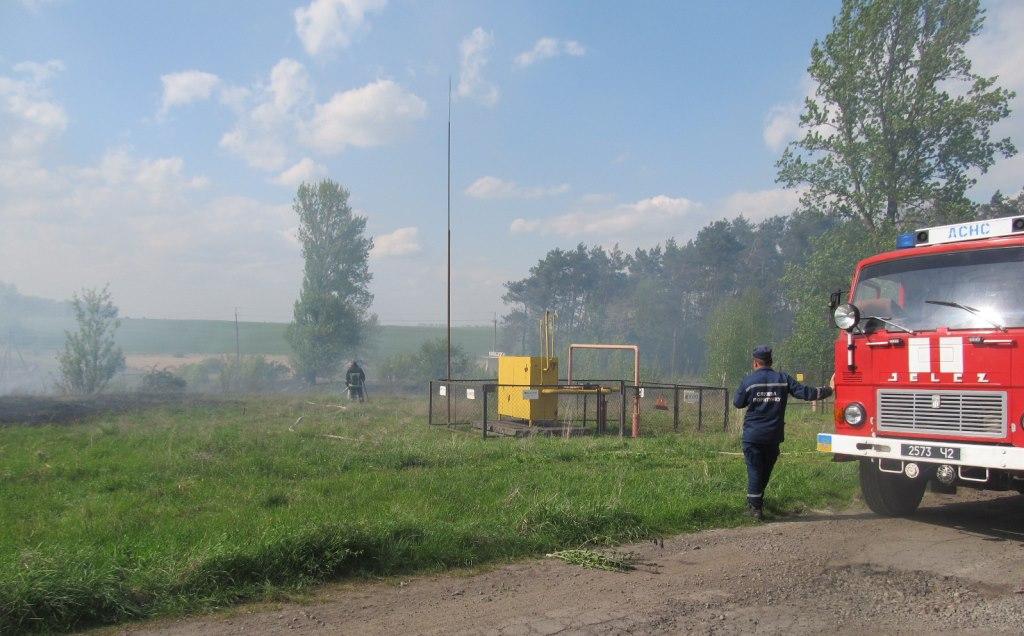 Волинян попереджають, що у спеку зростає ризик виникнення пожеж поблизу газопроводів