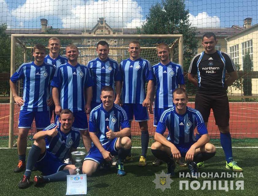 Волинські поліцейські вибороли перемогу у змаганнях з міні-футболу серед правоохоронців