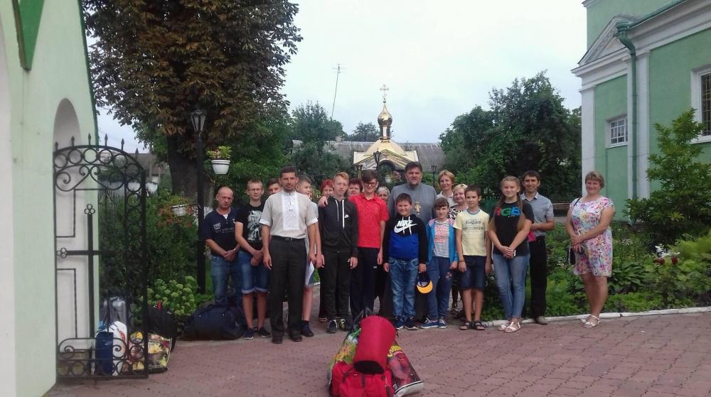 Під Берестечком організували християнський табір для дітей
