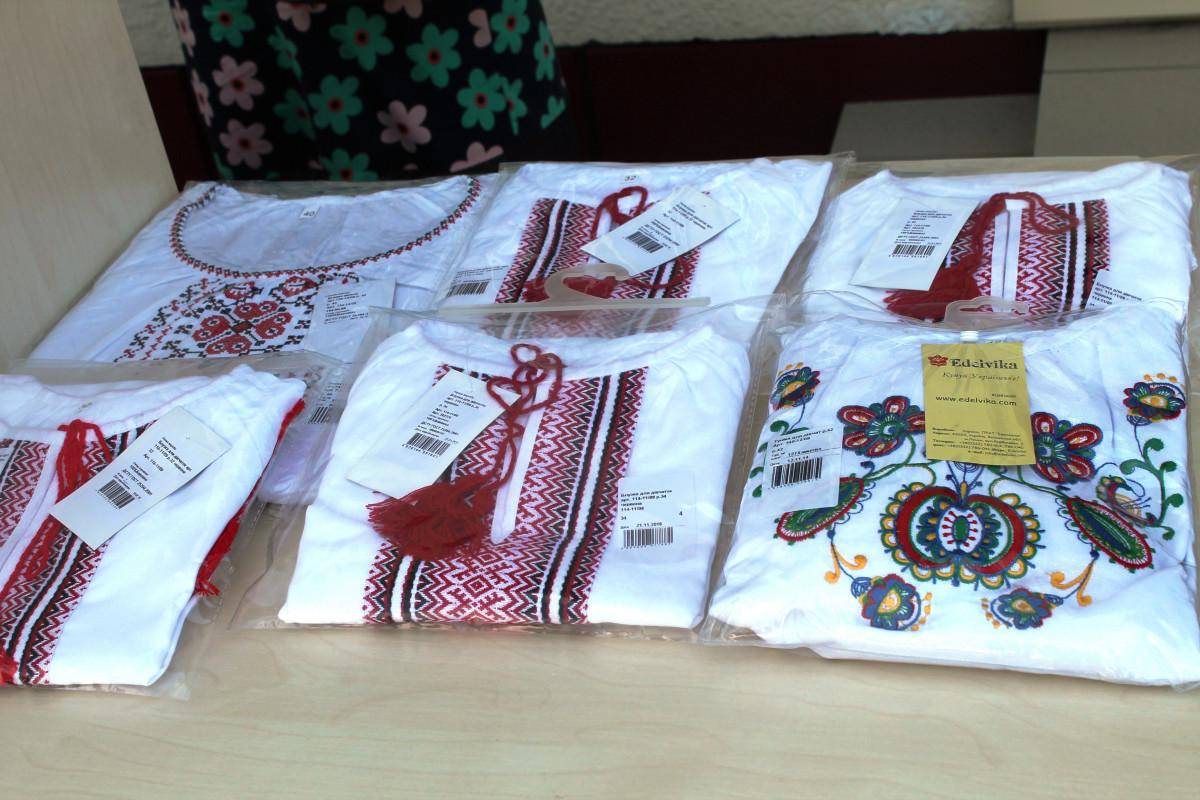 Шкільна форма та вишиванки для дітей волинських Героїв: у Луцьку відбулася благодійна акція. ФОТО