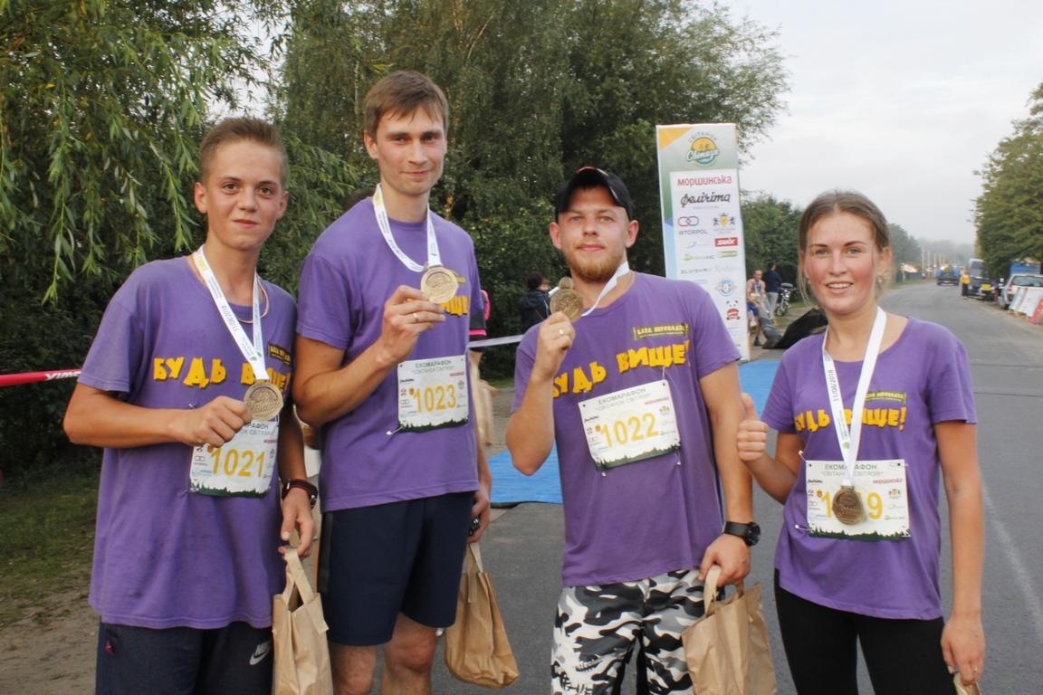 На Волині стартував перший марафонський забіг в області. ФОТО