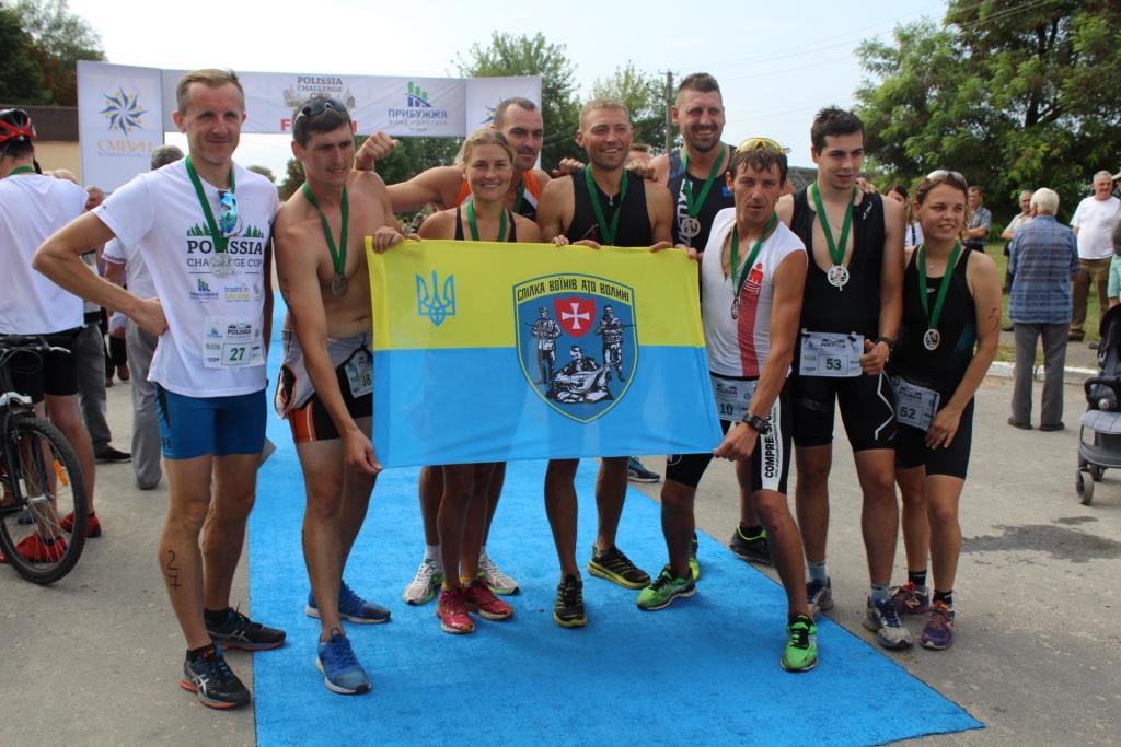 Відомо, хто переміг на змаганнях з триатлону «Polissia Challenge Cup»