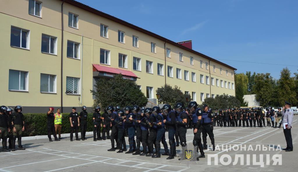 На Волині правоохоронці провели спільні навчання із забезпечення публічної безпеки. ФОТО. ВІДЕО