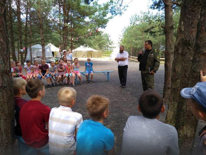 На Волині облаштували благодійний дитячий табір. ФОТО