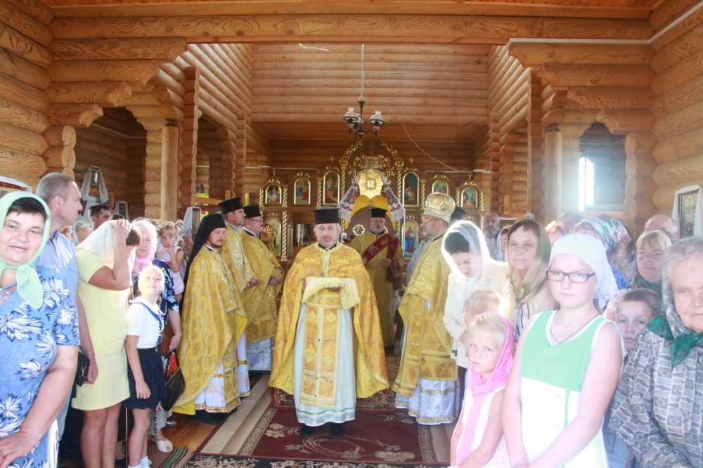 У селі на Волині освятили храм. ФОТО
