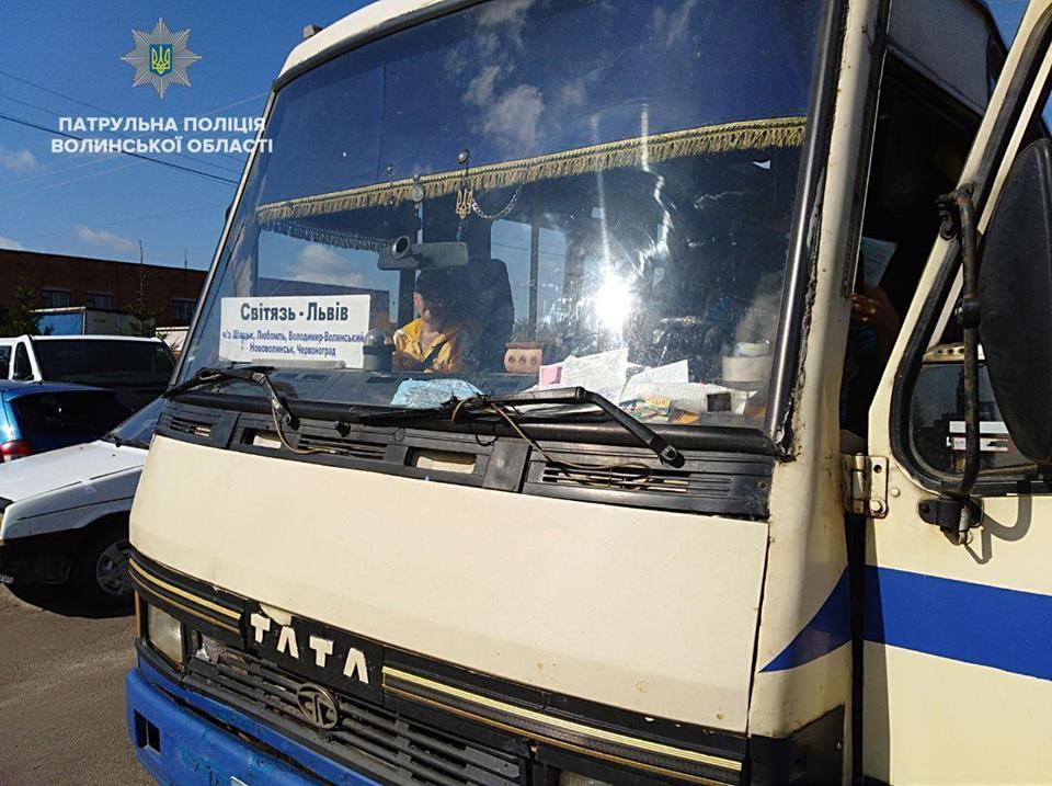 Операція «Перевізник»: на Волині виявили більше 40 несправних автобусів
