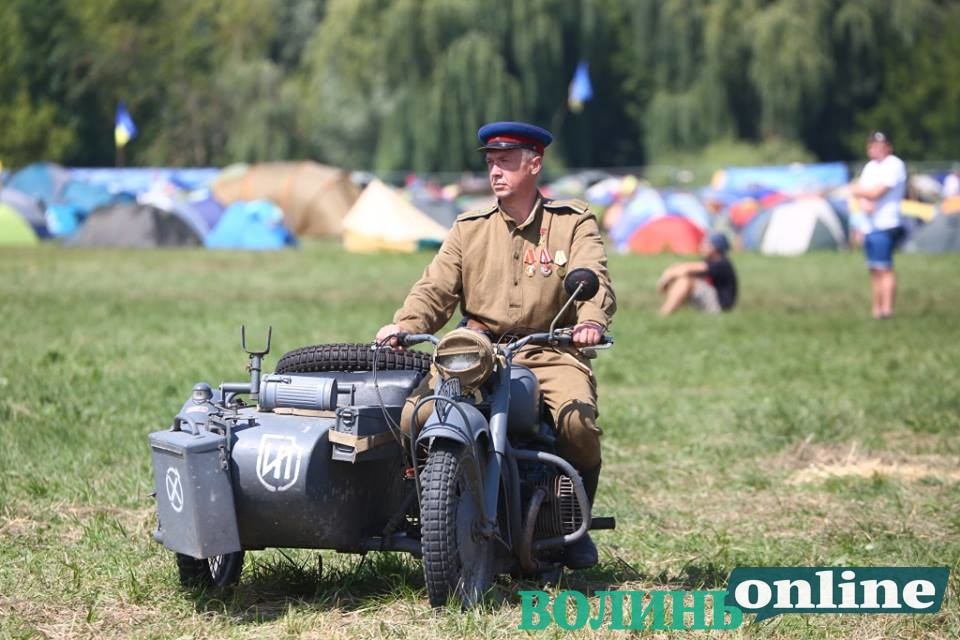 На «Бандерштаті» відтворили бій повстанців з НКВС. ФОТО