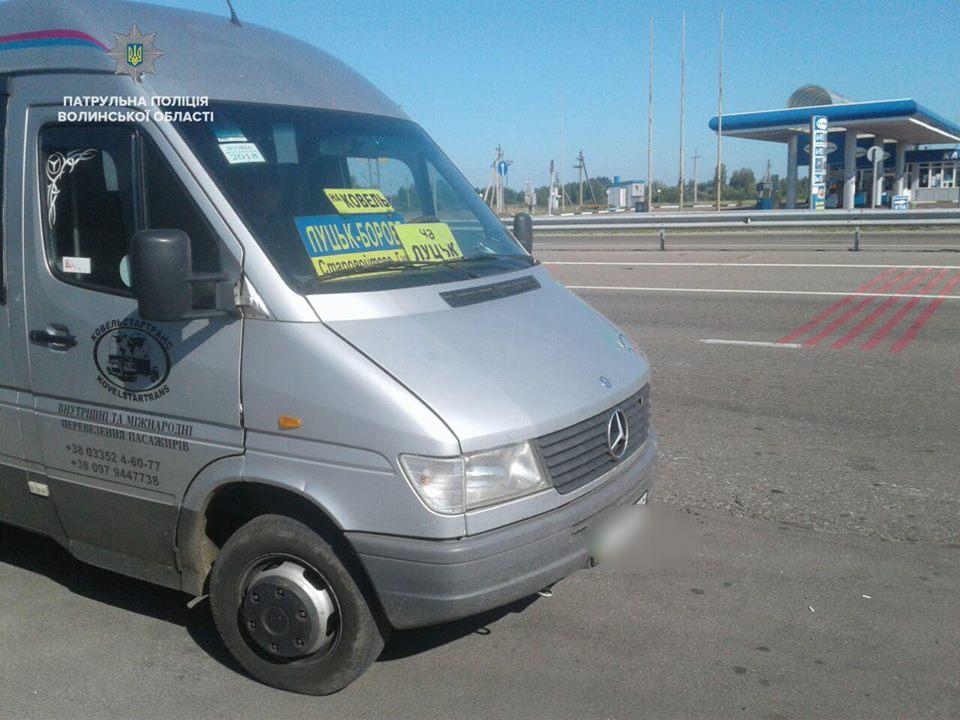 Ковельські патрульні виявили п'ять технічно несправних автобусів