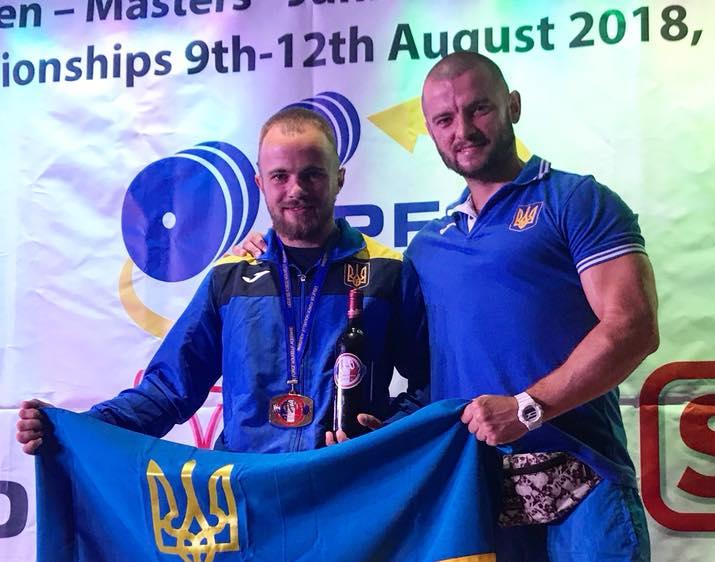 Волинянин став чемпіоном Європи з класичного жиму лежачи