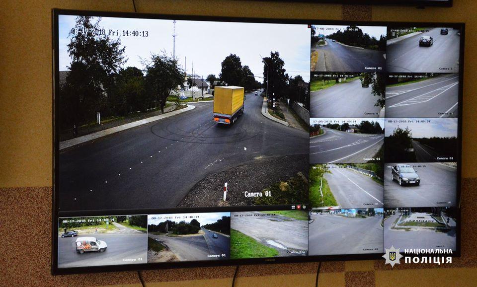 На автошляху поблизу Луцька встановили 12 відеокамер. ФОТО
