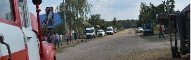 У селі на Волині у пожежі постраждали 11 людей
