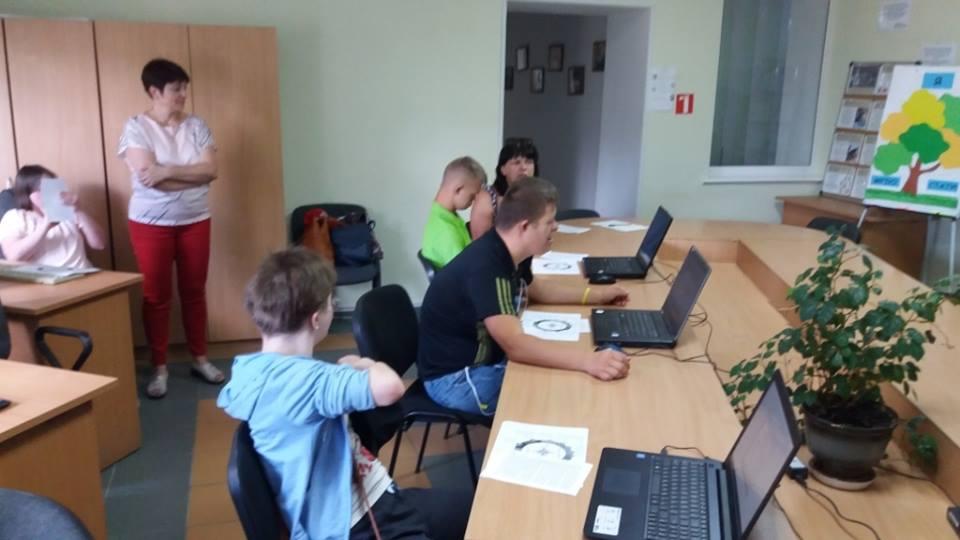 Особливі діти завітали до Луцького міського центру зайнятості. ФОТО