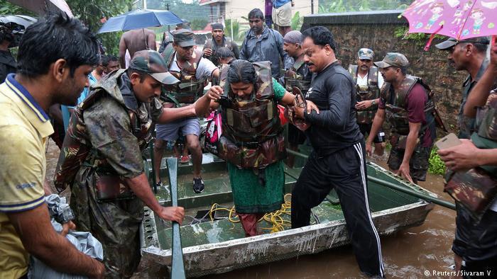 Повені в Індії: загинули понад 160 людей