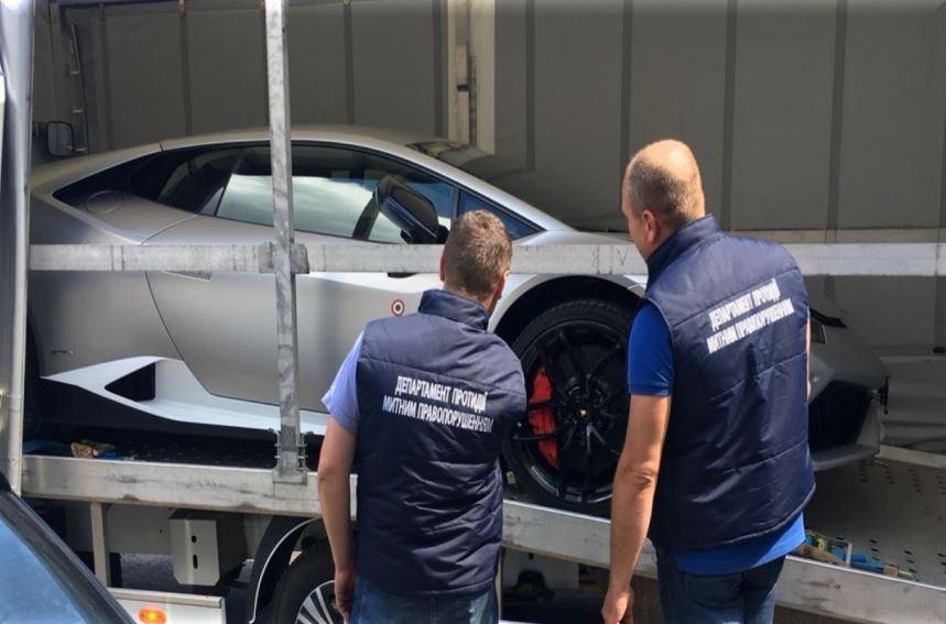 Власник вилученого на Волині «Lamborghini» сплатив понад мільйон гривень