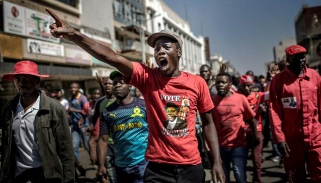 У Зімбабве армія відкрила вогонь по незгідних з результатами виборів