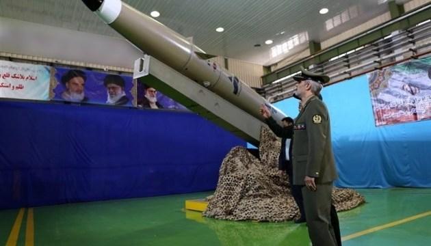 Іран показав балістичну ракету нового покоління