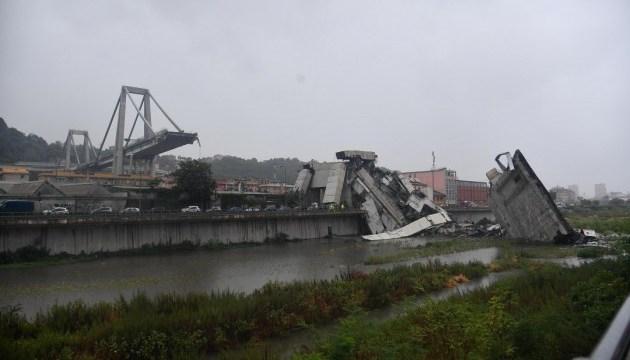 Через обвал моста у регіоні навколо Генуї оголосили надзвичайний стан