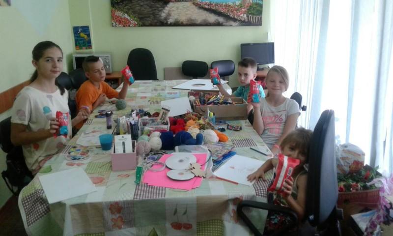 У Луцьку для дітей провели цікаві майстер-класи. ФОТО