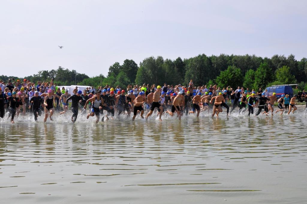 Закінчується реєстрація на змагання з триатлону «Polissia Challenge Cup»