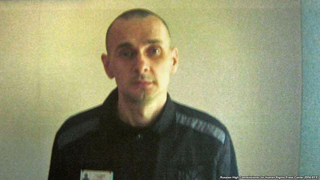 Україна вкотре вимагає від Росії звільнити Сенцова, який голодує 100 днів