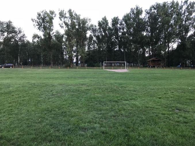 Шацькі лісівники відбудували футбольний стадіон. ФОТО