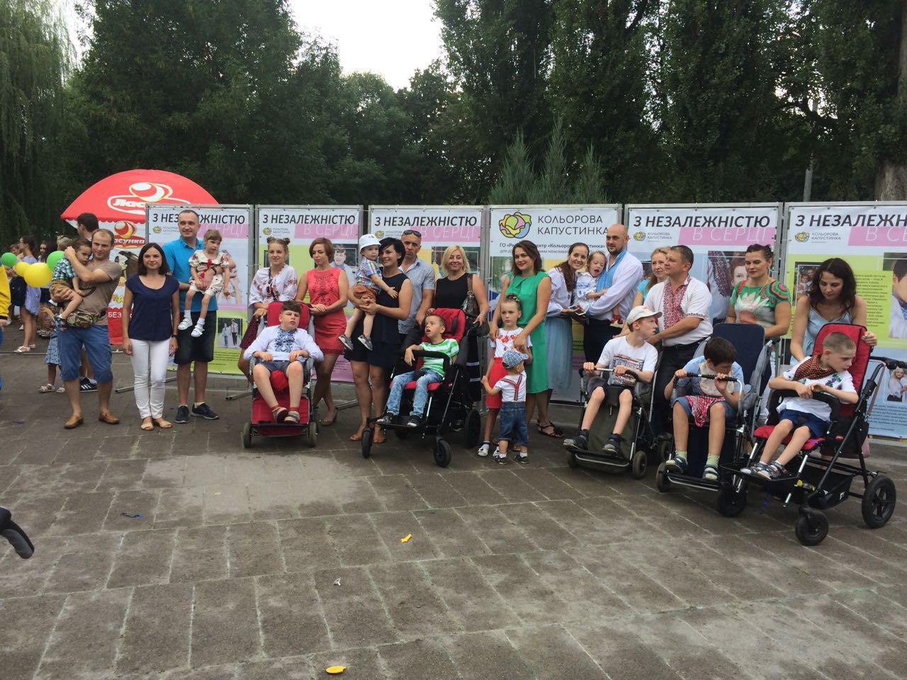 У Луцьку відкрили першу фотовиставку, присвячену дітям з ДЦП